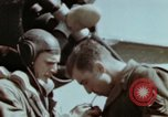 Image of B-26 Marauder bomber crew flaunting standard procedures Germany, 1945, second 56 stock footage video 65675073918