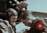 Image of B-26 Marauder bomber crew flaunting standard procedures Germany, 1945, second 57 stock footage video 65675073918