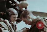 Image of B-26 Marauder bomber crew flaunting standard procedures Germany, 1945, second 58 stock footage video 65675073918