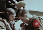 Image of B-26 Marauder bomber crew flaunting standard procedures Germany, 1945, second 59 stock footage video 65675073918