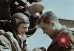 Image of B-26 Marauder bomber crew flaunting standard procedures Germany, 1945, second 60 stock footage video 65675073918