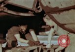 Image of B-26 Marauder bomber preparing for a mission Germany, 1945, second 3 stock footage video 65675073919