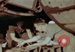 Image of B-26 Marauder bomber preparing for a mission Germany, 1945, second 6 stock footage video 65675073919