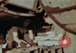 Image of B-26 Marauder bomber preparing for a mission Germany, 1945, second 7 stock footage video 65675073919