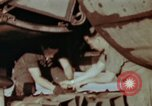 Image of B-26 Marauder bomber preparing for a mission Germany, 1945, second 9 stock footage video 65675073919