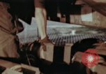 Image of B-26 Marauder bomber preparing for a mission Germany, 1945, second 42 stock footage video 65675073919