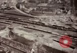 Image of Bomb-damage in Bad Durkheim, Worms, Frankfurt Worms Germany, 1945, second 26 stock footage video 65675073925