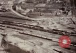 Image of Bomb-damage in Bad Durkheim, Worms, Frankfurt Worms Germany, 1945, second 27 stock footage video 65675073925