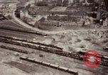Image of Bomb-damage in Bad Durkheim, Worms, Frankfurt Worms Germany, 1945, second 28 stock footage video 65675073925
