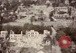 Image of Bomb-damage in Bad Durkheim, Worms, Frankfurt Worms Germany, 1945, second 62 stock footage video 65675073925