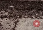 Image of bomb-damaged buildings Worms Germany, 1945, second 2 stock footage video 65675073926