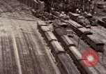 Image of bomb-damaged buildings Worms Germany, 1945, second 11 stock footage video 65675073926