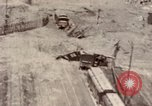 Image of bomb-damaged buildings Worms Germany, 1945, second 17 stock footage video 65675073926