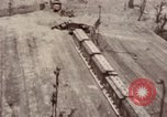 Image of bomb-damaged buildings Worms Germany, 1945, second 18 stock footage video 65675073926