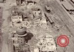 Image of bomb-damaged buildings Worms Germany, 1945, second 33 stock footage video 65675073926