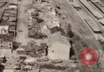 Image of bomb-damaged buildings Worms Germany, 1945, second 38 stock footage video 65675073926