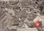 Image of bomb-damaged buildings Worms Germany, 1945, second 39 stock footage video 65675073926