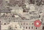 Image of bomb-damaged buildings Worms Germany, 1945, second 41 stock footage video 65675073926