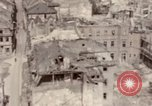 Image of bomb-damaged buildings Worms Germany, 1945, second 42 stock footage video 65675073926