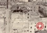 Image of bomb-damaged buildings Worms Germany, 1945, second 43 stock footage video 65675073926