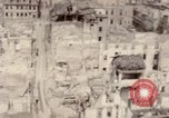 Image of bomb-damaged buildings Worms Germany, 1945, second 44 stock footage video 65675073926