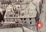Image of bomb-damaged buildings Worms Germany, 1945, second 48 stock footage video 65675073926