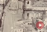 Image of bomb-damaged buildings Worms Germany, 1945, second 51 stock footage video 65675073926