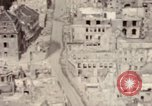 Image of bomb-damaged buildings Worms Germany, 1945, second 55 stock footage video 65675073926