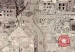 Image of bomb-damaged buildings Worms Germany, 1945, second 56 stock footage video 65675073926