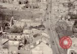 Image of bomb-damaged buildings Worms Germany, 1945, second 62 stock footage video 65675073926