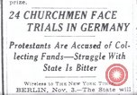 Image of Nazi position against religion Germany, 1937, second 1 stock footage video 65675073932