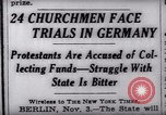 Image of Nazi position against religion Germany, 1937, second 2 stock footage video 65675073932