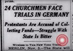 Image of Nazi position against religion Germany, 1937, second 3 stock footage video 65675073932
