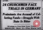 Image of Nazi position against religion Germany, 1937, second 7 stock footage video 65675073932