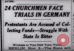 Image of Nazi position against religion Germany, 1937, second 8 stock footage video 65675073932