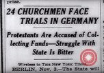 Image of Nazi position against religion Germany, 1937, second 13 stock footage video 65675073932