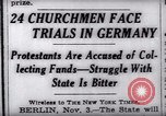 Image of Nazi position against religion Germany, 1937, second 14 stock footage video 65675073932