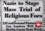 Image of Nazi position against religion Germany, 1937, second 17 stock footage video 65675073932