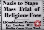 Image of Nazi position against religion Germany, 1937, second 18 stock footage video 65675073932
