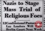 Image of Nazi position against religion Germany, 1937, second 19 stock footage video 65675073932