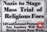 Image of Nazi position against religion Germany, 1937, second 22 stock footage video 65675073932