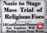 Image of Nazi position against religion Germany, 1937, second 23 stock footage video 65675073932