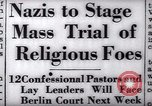 Image of Nazi position against religion Germany, 1937, second 24 stock footage video 65675073932