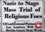 Image of Nazi position against religion Germany, 1937, second 25 stock footage video 65675073932