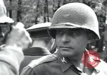 Image of Colonel Frank Dunkerly Regensburg Germany, 1945, second 24 stock footage video 65675073953