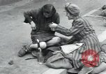 Image of Hungarian-Jewish laborers Wurzen Germany, 1945, second 7 stock footage video 65675073956