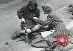 Image of Hungarian-Jewish laborers Wurzen Germany, 1945, second 8 stock footage video 65675073956
