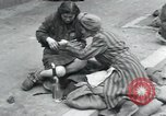 Image of Hungarian-Jewish laborers Wurzen Germany, 1945, second 9 stock footage video 65675073956