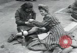 Image of Hungarian-Jewish laborers Wurzen Germany, 1945, second 11 stock footage video 65675073956