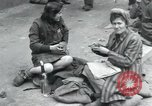 Image of Hungarian-Jewish laborers Wurzen Germany, 1945, second 12 stock footage video 65675073956